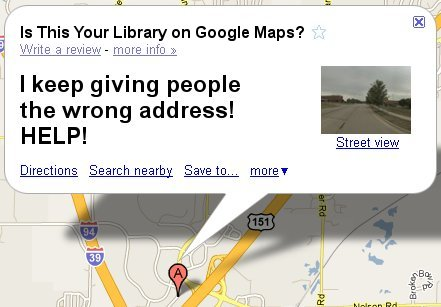 Fix this address