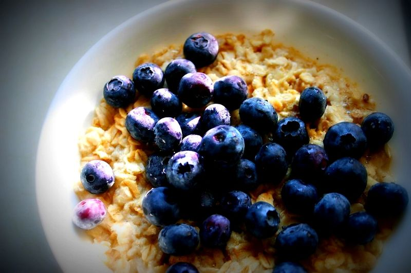 Blueberry oatmeal experiment