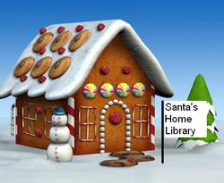 Santa's Ho-Ho-Home Library