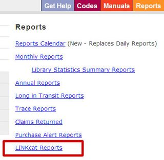 Linkcat-reports