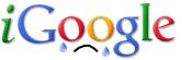 Crying iGoogle logo