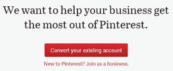 Convert your existing account