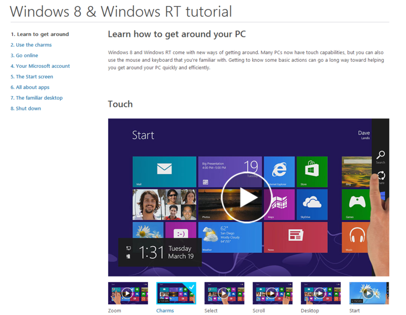 Windows8tutorial