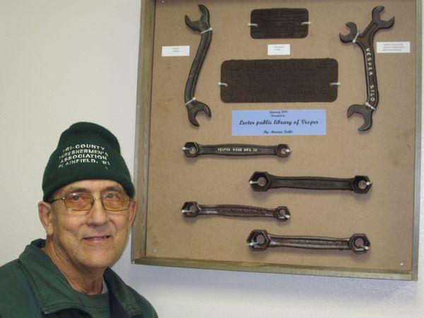 Vesper Silo Wrench Donation Lester Public Library Of Vesper