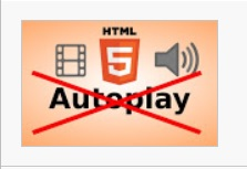 Disable autoplay