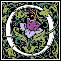 William-morris-letter-o-color2