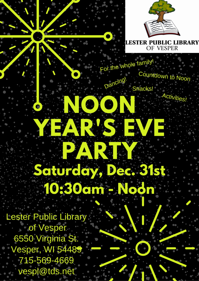 Noon Year's Eve Celebration