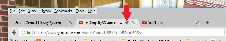 Browser tab no sound
