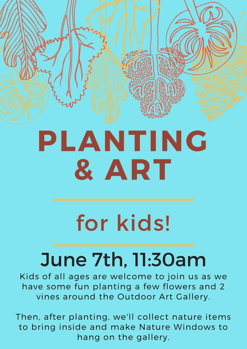 Planting & Art