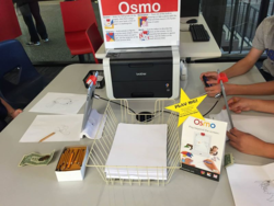 McMillan Library's OSMO station