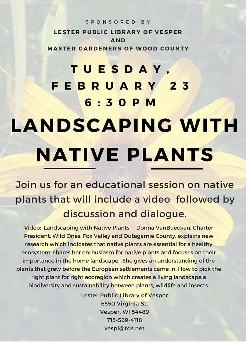 Landscaping with Native Plants(1)