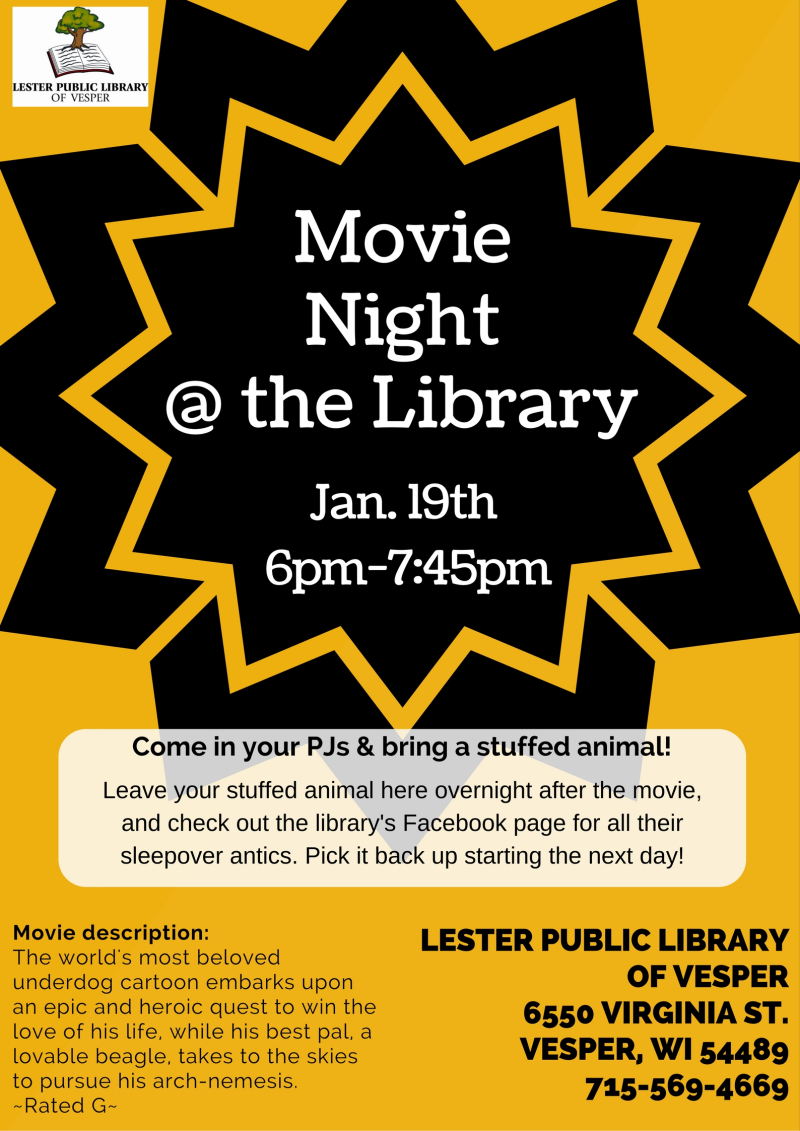 Movie Night @ the Library