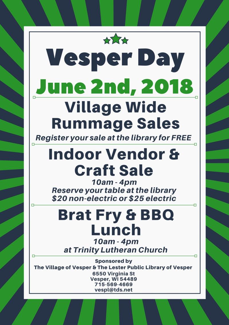 Vesper Day 2018