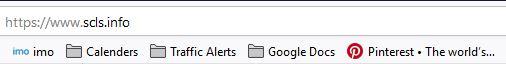 Bookmark toolbar