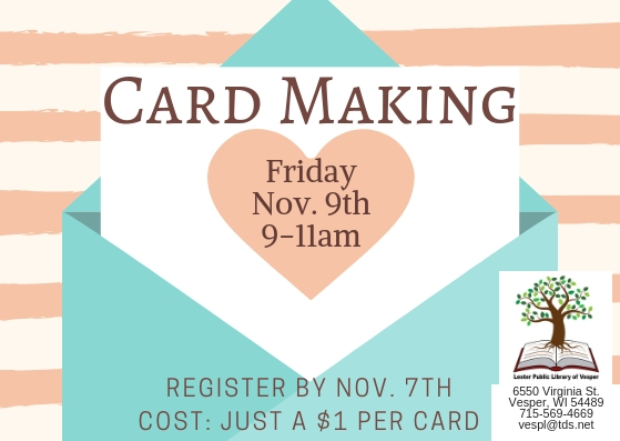 Card making nov