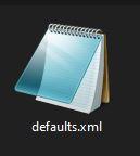 DefaultsXML