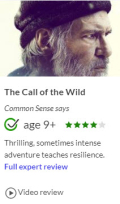 Call of the wild movie quick review from Common Sense Media
