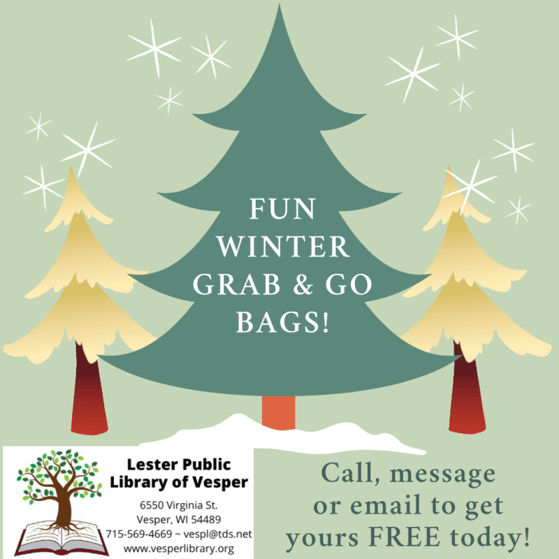 WINTER GRAB & GO BAGS!